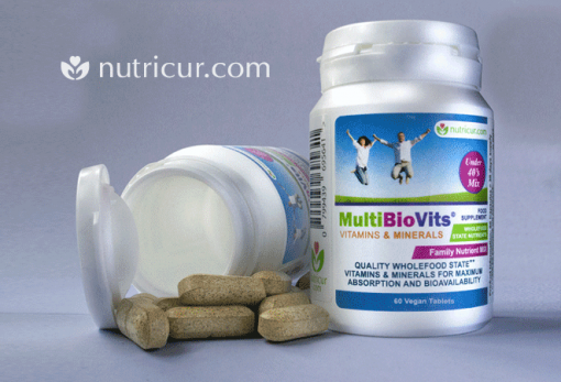 MultiBioVits UNDER 40 - Bioavailable Vitamins and Minerals Under 40
