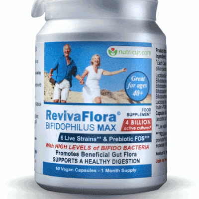 ReViva Flora - Bifidophilous Max - Promote a Healthy Gut Flora