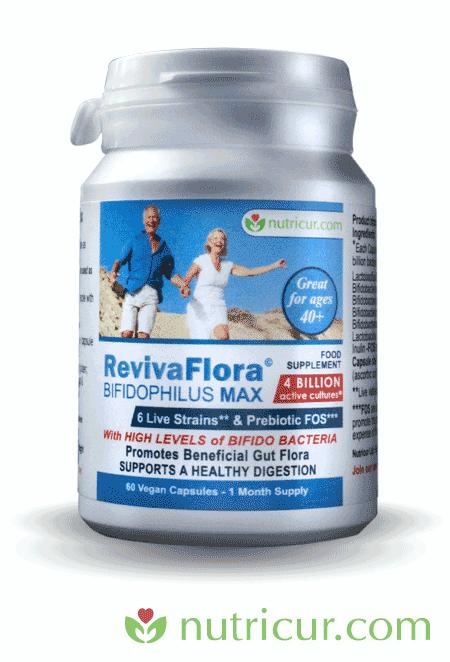 ReViva Flora - Bifidophilous Max - Promote a Healthy Gut Flora