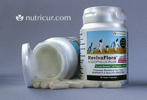 ReViva Flora Family Probiotic Acidophilus Plus