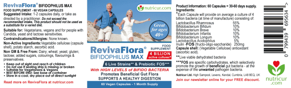 ReViva Flora Bifidophilous Max Label