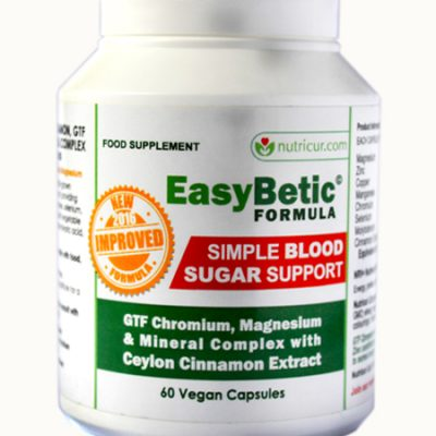 EasyBetic Blood Sugar Support Formula Bottle Shot