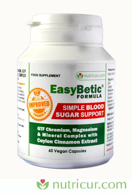 EasyBetic Blood Sugar Support Formula Bottle Shot